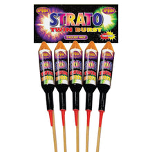 Load image into Gallery viewer, Spook Strato Twin Burst Rocket - 5 pack