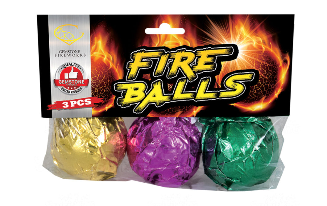 Gemstone Fireballs 3 pack