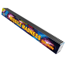 Load image into Gallery viewer, Firework King Missile Madness  - 300 Shot