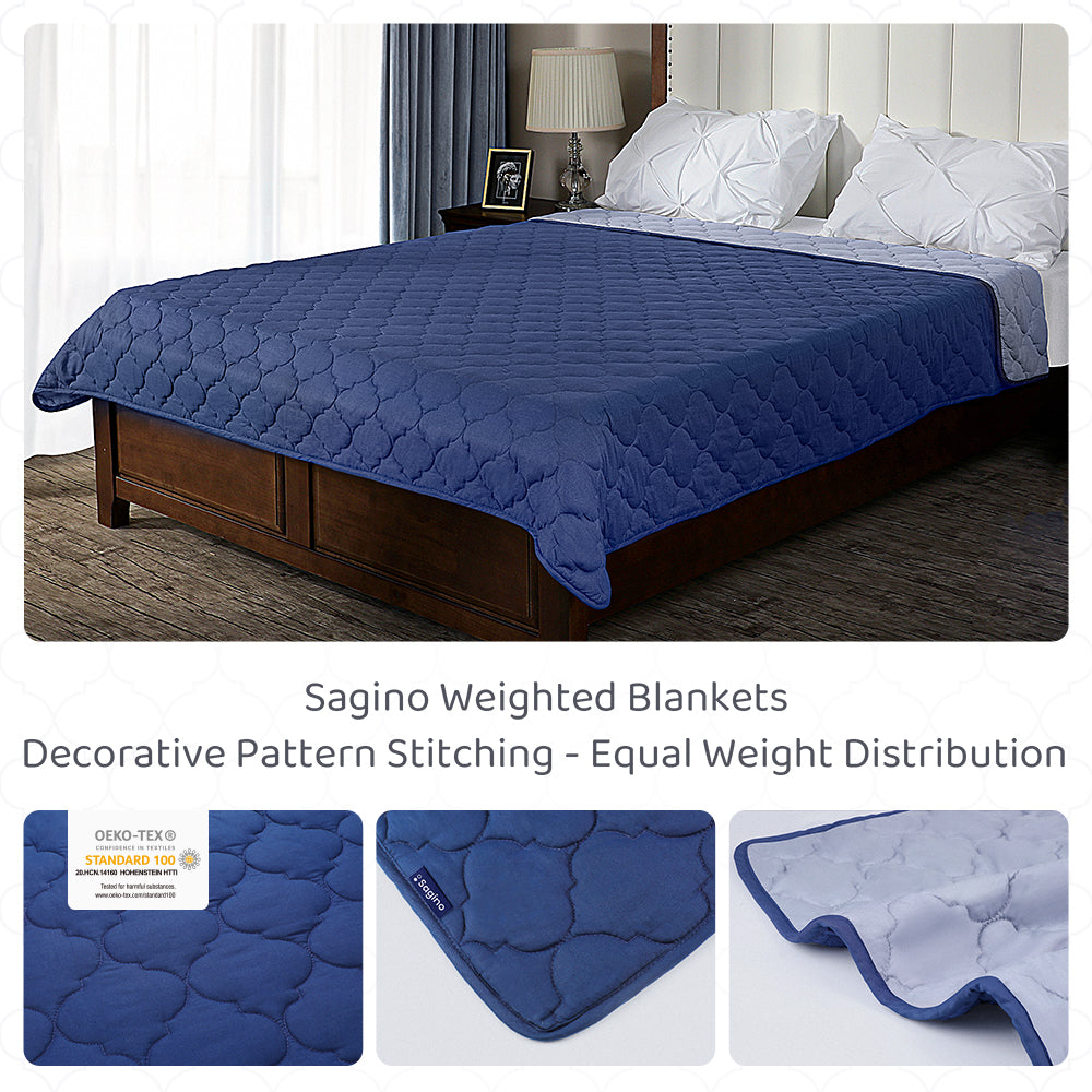 Sagino Twin/Full Size Bed Weighted Blankets - Sagino