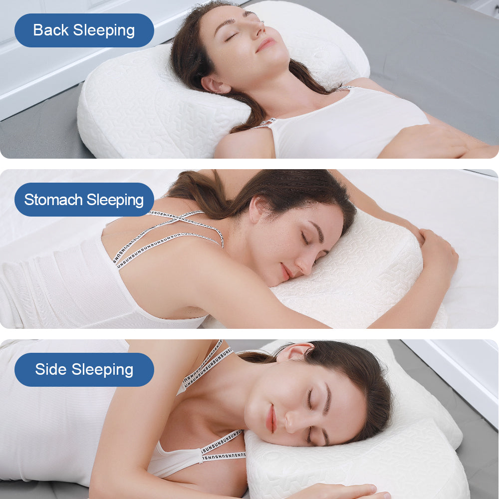 Sagino Cervical Memory Foam Pillow - Sagino