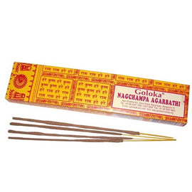 Goloka Nagchampa Incense Sticks 16g