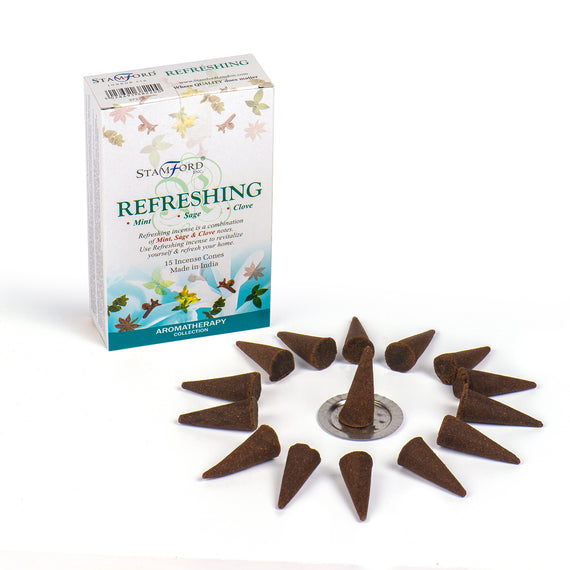 Refreshing Incense Cones
