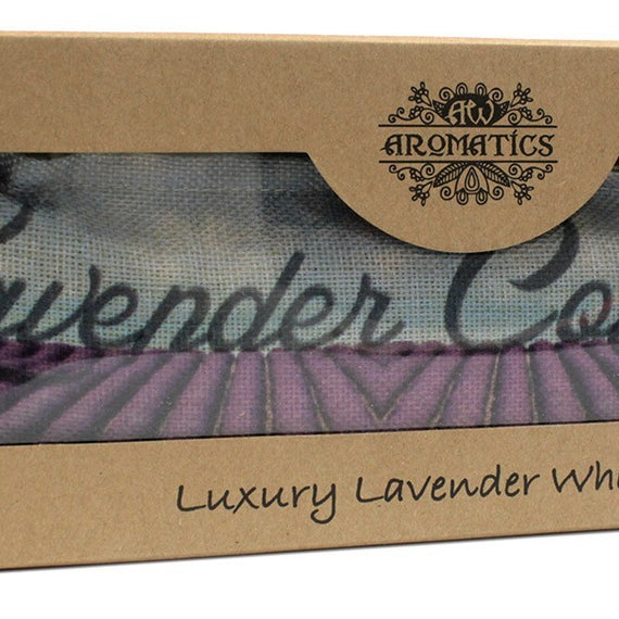 Luxury Lavender Wheat Bag in Gift Box - Lavender Comforts