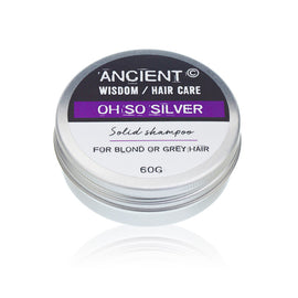 Solid Shampoo Bar 60g - Oh So Silver