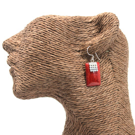 Coral Style 925 Silver Earring - SQ Mini Discs