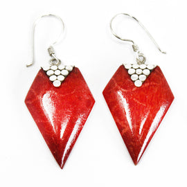Coral Style 925 Silver Earring - Grapes