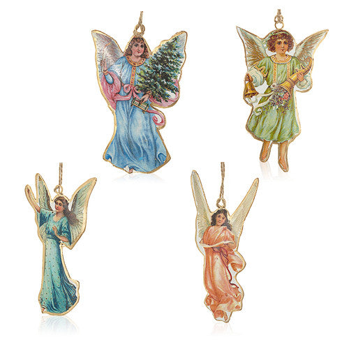Vintage Angels Bauble