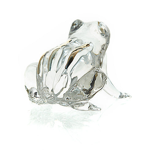 Crystal Frog wirth Golden Back