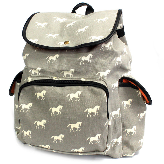 Traveller Backpack - 3 Pocket Horses