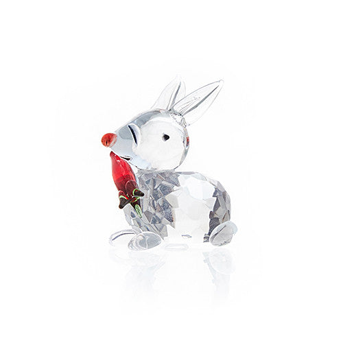 Rabbit with Carrot Crystal (small)