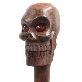 Ceremonial Staff - Skull