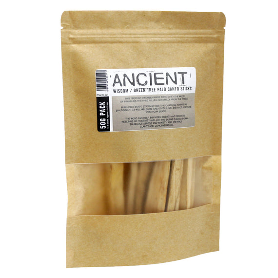 50g Green Tree Palo Santo Sticks 5-8 sticks