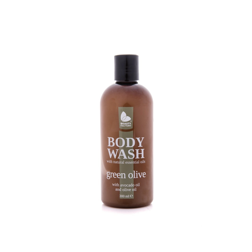 ESS GREEN OLIVE BODY WASH 300ML