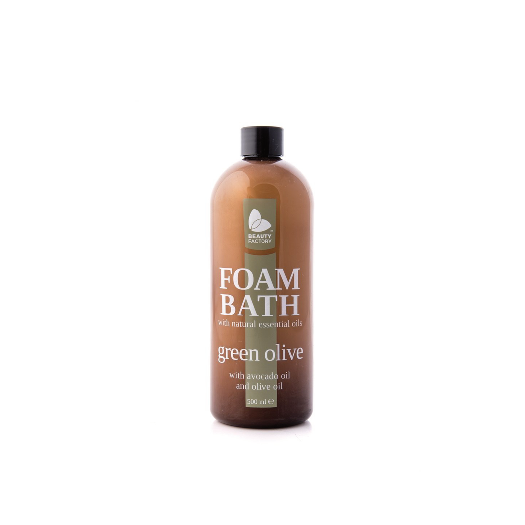 ESS GREEN OLIVE FOAM BATH 500ML