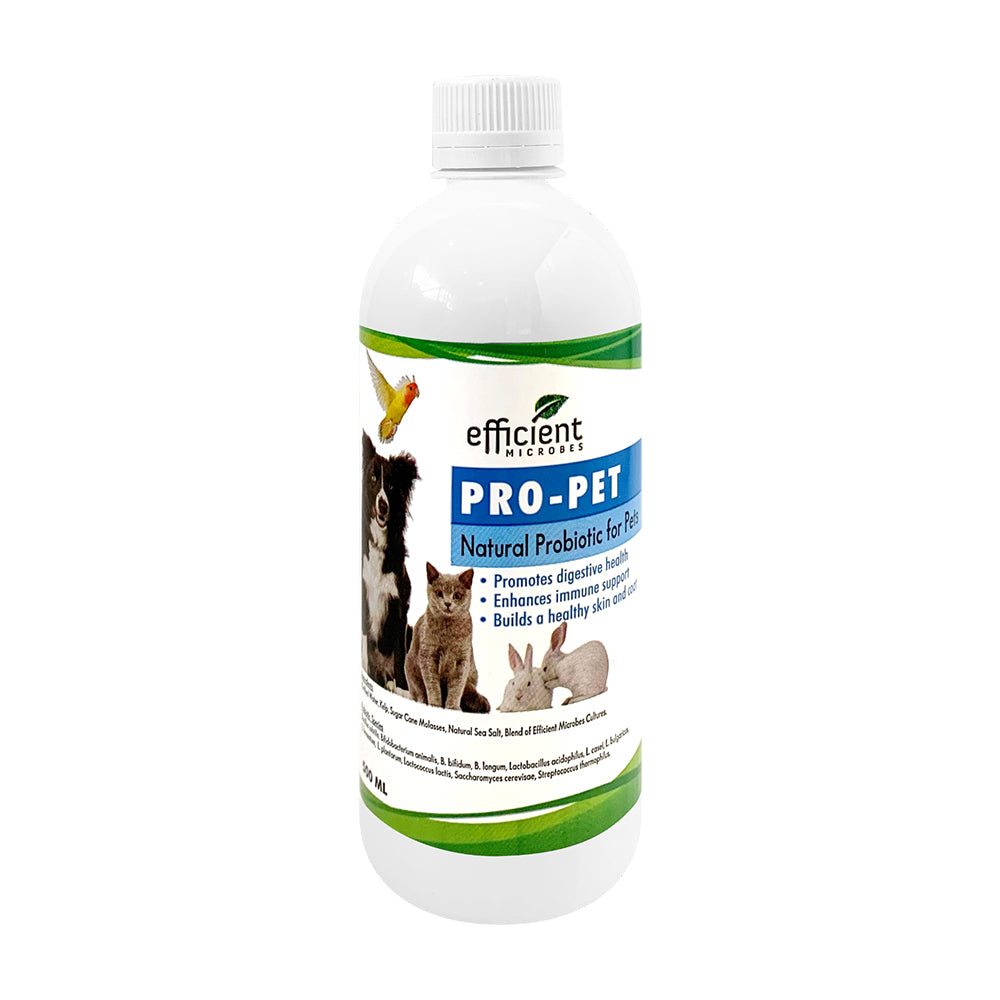 Efficient Microbes Pro-Pet Probiotic