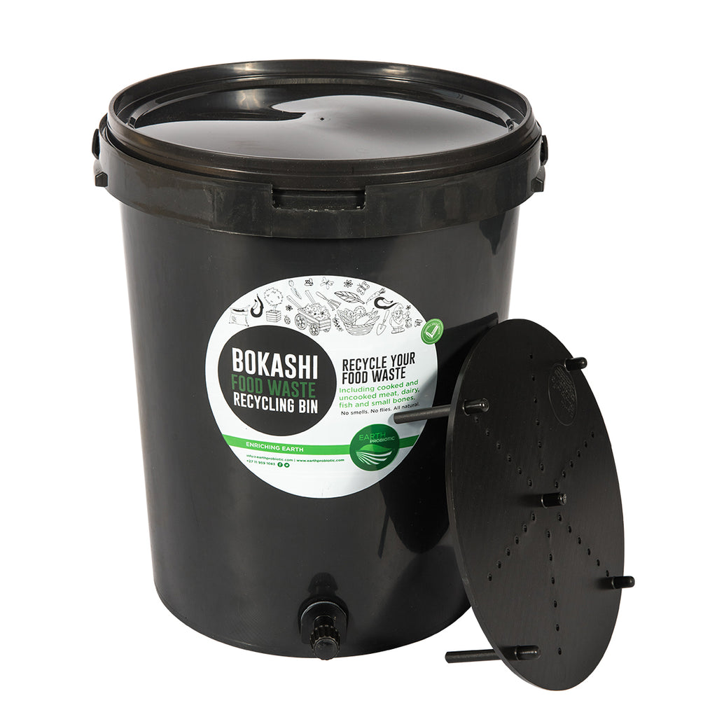 Earth Probiotic Bokashi Recycling Bin for Food Waste