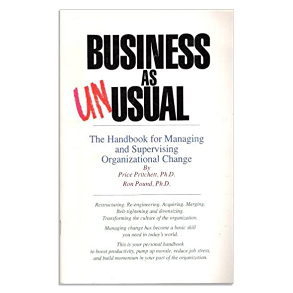 Pritchett, Price, Ph.D. - Business as Unusual - BARGAIN BIN