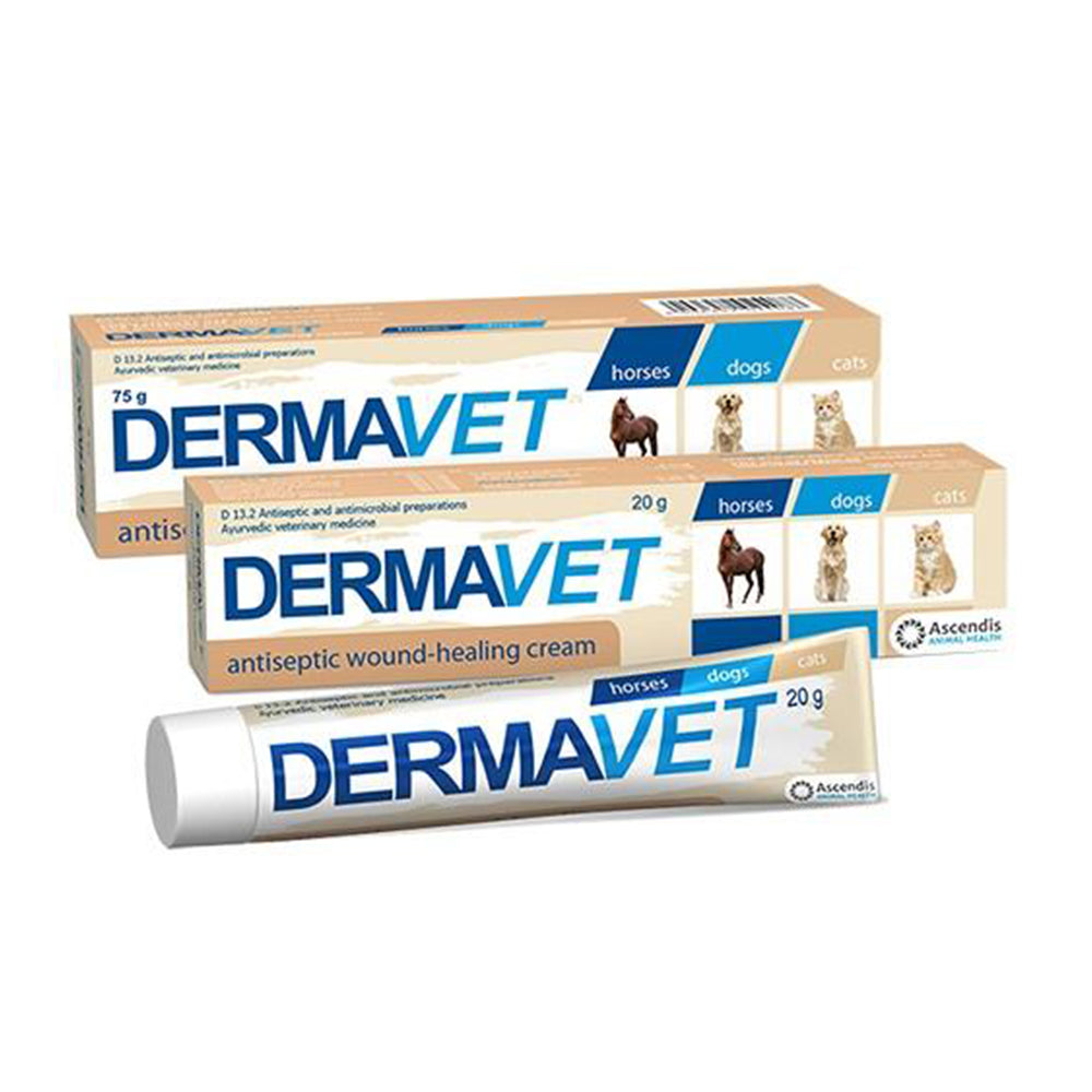 Dermavet Pet Wound Healing Cream 20g