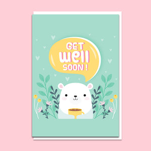 Get Well 01 Greeting Card