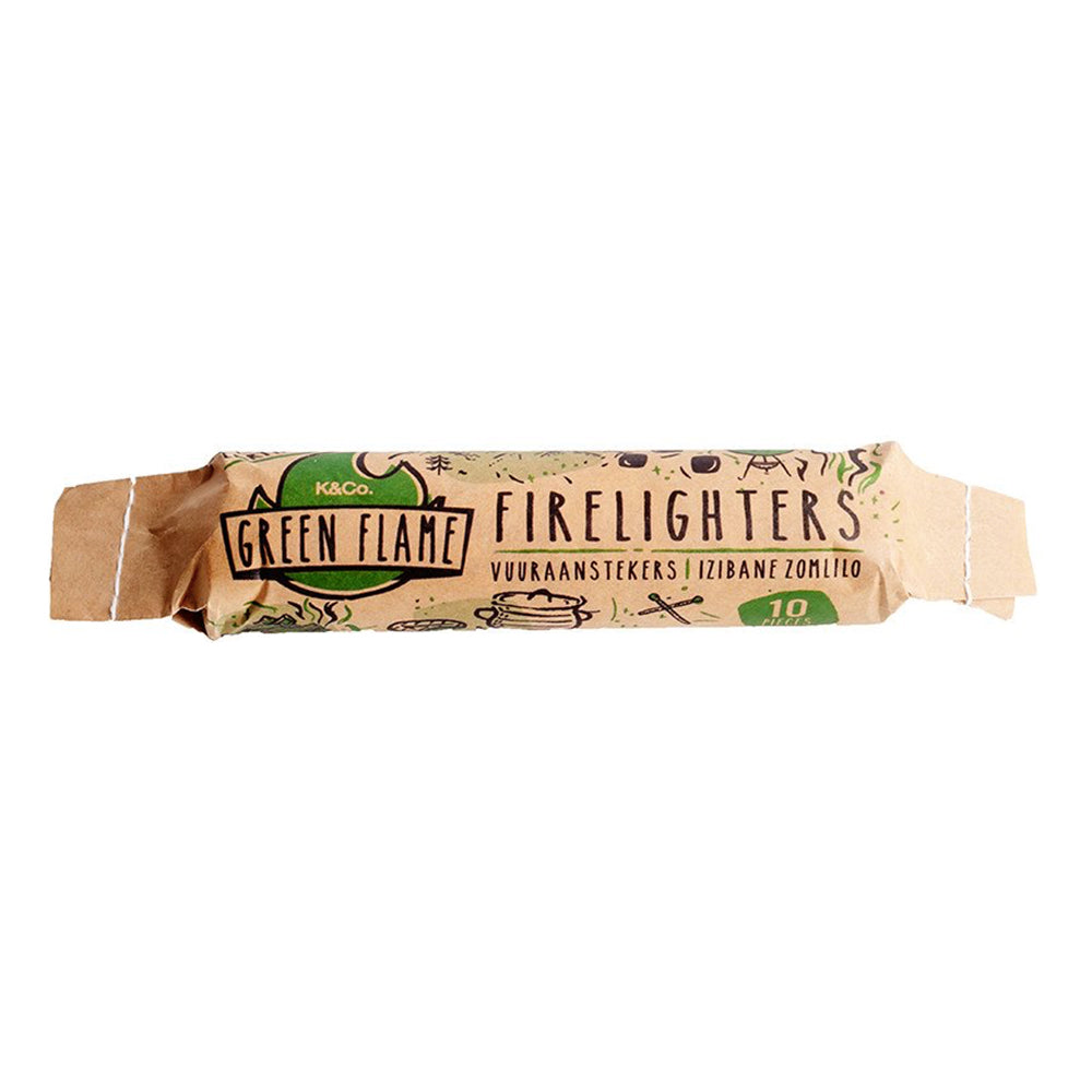 Green Flame Firelighters