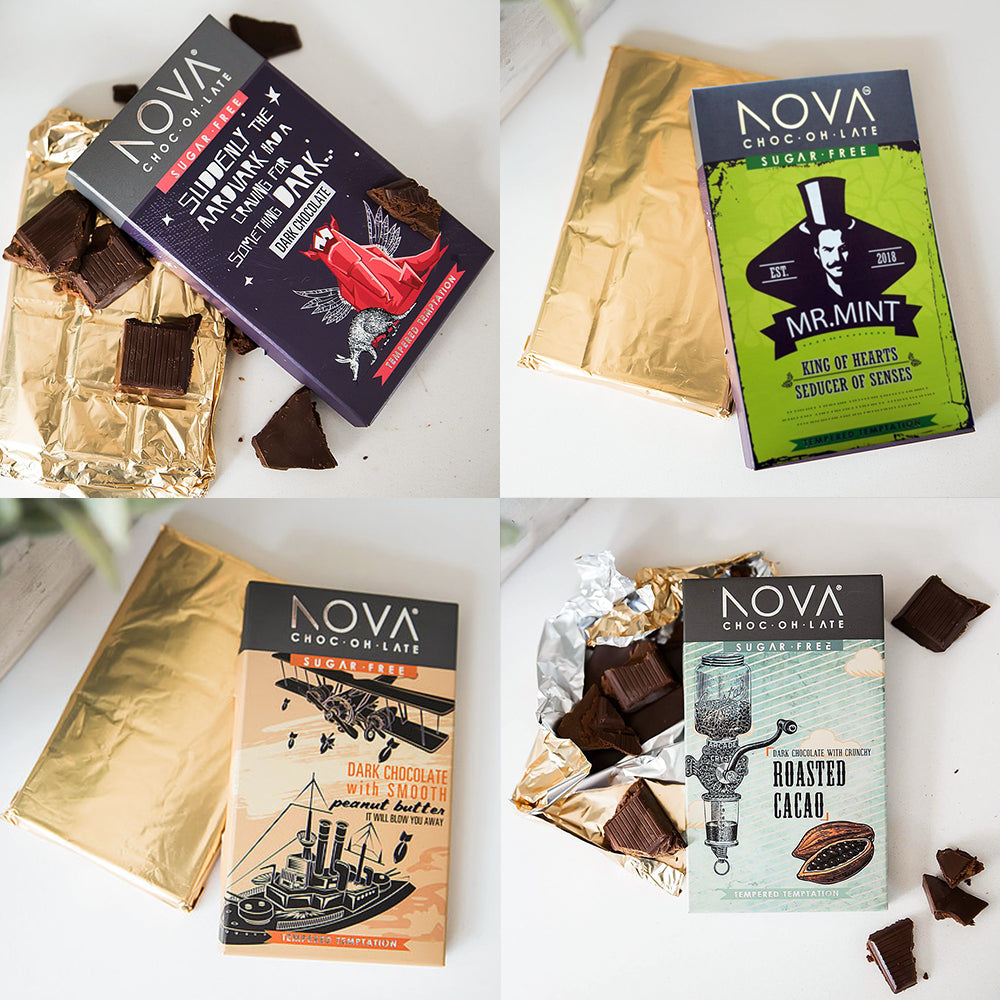 NOVA Chocolate Set (4 x 100g)