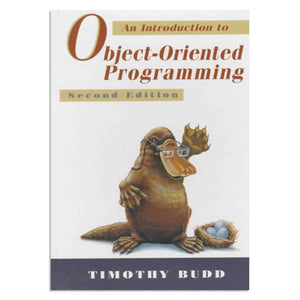 Budd, Timothy - An introduction to object-oriented programming