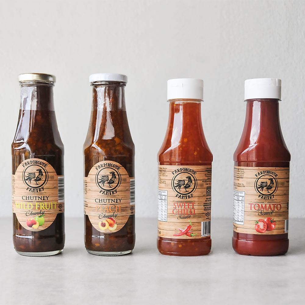Farmhouse Pantry Sauce Set