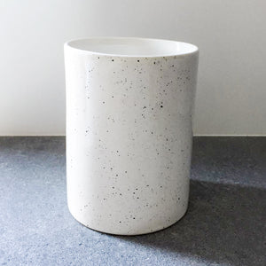 White with Black Vase - Gloss