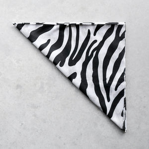 Black & White Zebra Summer Buff