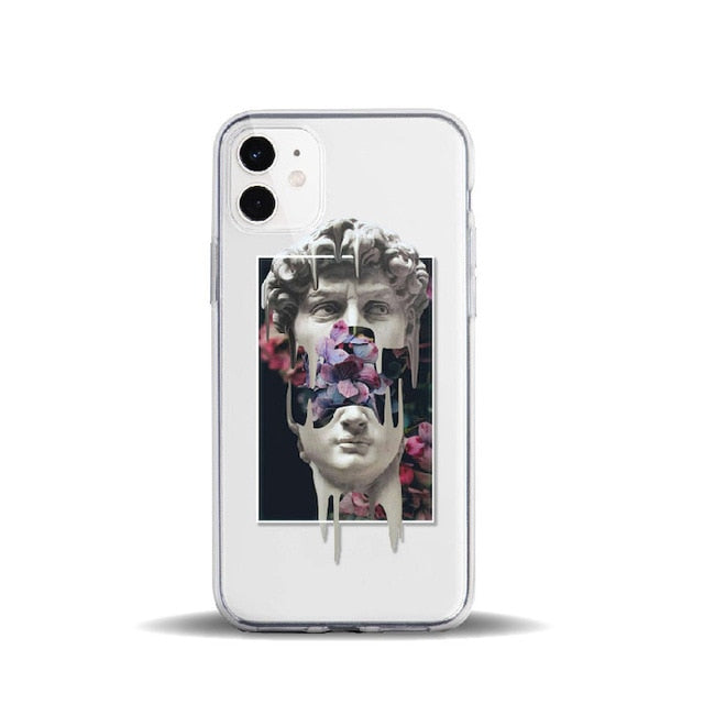 Floral David Michelangelo iPhone Case