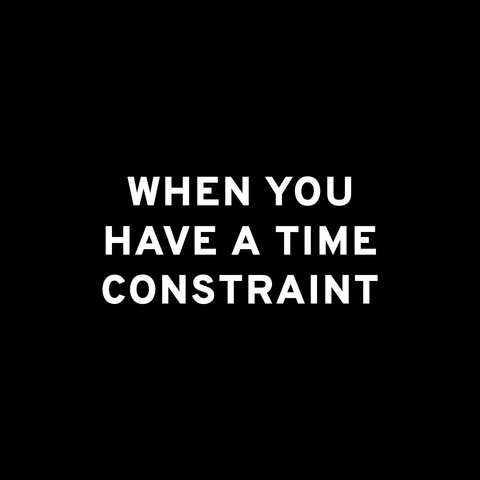 bfr time constraint