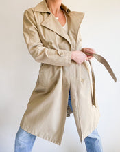 Load image into Gallery viewer, Vintage Gap Beige Trench Coat