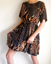 Load image into Gallery viewer, Vintage Animal Print Dress