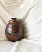 Load image into Gallery viewer, Vintage Ceramic Vessel with Lid