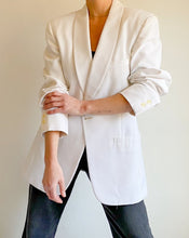 Load image into Gallery viewer, Vintage Pierre Cardin White Blazer