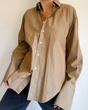 Load image into Gallery viewer, Vintage Copper Button Collar Shirt