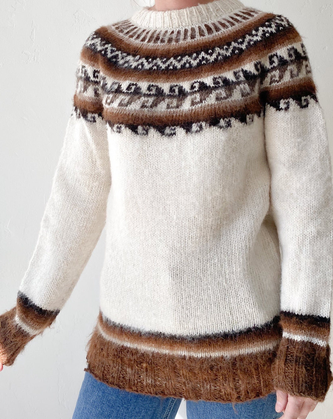 Vintage Norwegian Wool Sweater