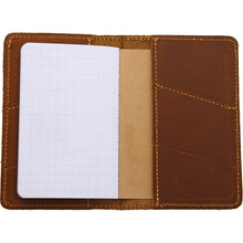 Load image into Gallery viewer, Lord And Field Outfitters Trail Notes Leather Notepad