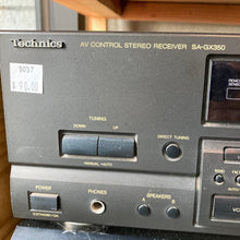 Load image into Gallery viewer, STEREO RECIEVER TECHNICS SA-GX350
