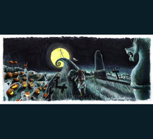 Load image into Gallery viewer, Nightmare Before Christmas - Jack's Lament Poster Print By Jim Ferguson