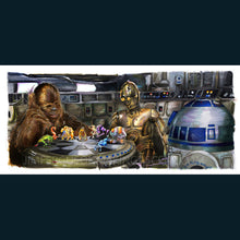 "Load image into Gallery viewer, Star Wars A New Hope - Let the Wookiee Win "" Poster Print By Jim Ferguson"