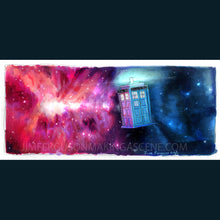Load image into Gallery viewer, Dr Who- TARDIS Poster Print By Jim Ferguson