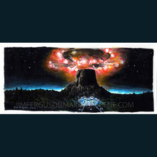 "Load image into Gallery viewer, Close Encounters of the Third Kind - ""Contact""  Poster Print By Jim Ferguson"