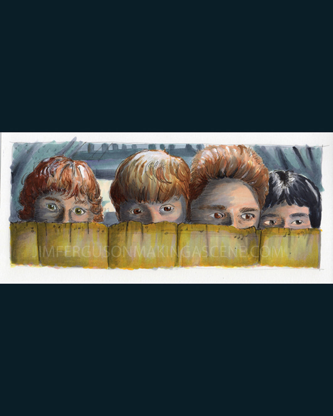The Goonies - The Goonies R Good Enough Print By Jim Ferguson