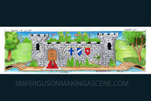 Load image into Gallery viewer, King's Quest 1 -  Daventry Castle By Jim Ferguson