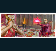 Load image into Gallery viewer, Flash Gordon - Death to Ming Poster Print By Jim Ferguson