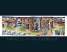 Load image into Gallery viewer, Quest for Glory - Village of Spielburg By Jim Ferguson