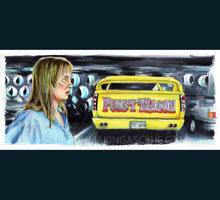 Load image into Gallery viewer, Kill Bill -  Pussy Wagon Poster Print By Jim Ferguson