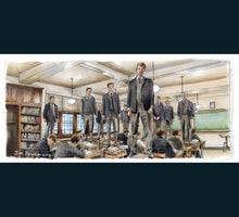 Load image into Gallery viewer, Dead Poets Society - Oh Captain My Captain Poster Print By Jim Ferguson